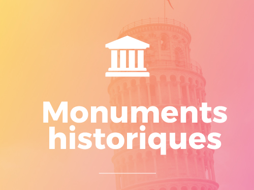 Domaines d'interventions Aster BTP sur les monuments historiques